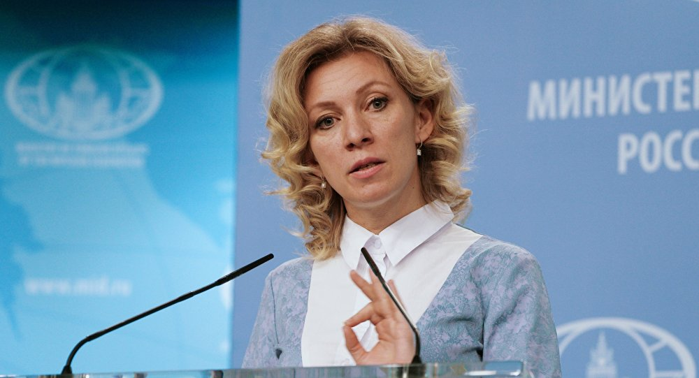 Zakharova: Name solution should be acceptable for both sides
