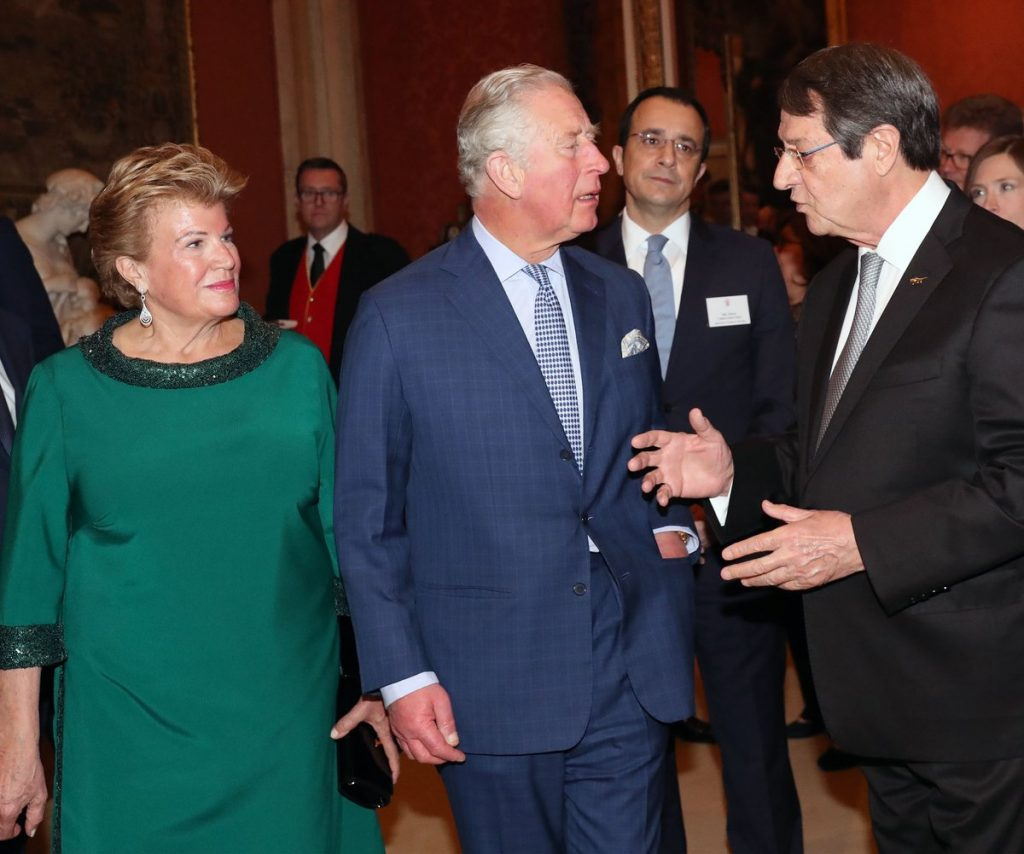 President Anastasiades concludes four-day official visit to London with Queen meeting