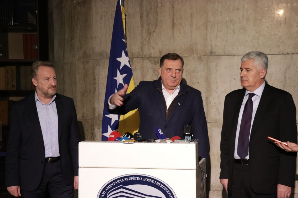 NATO stalemate continues in BiH