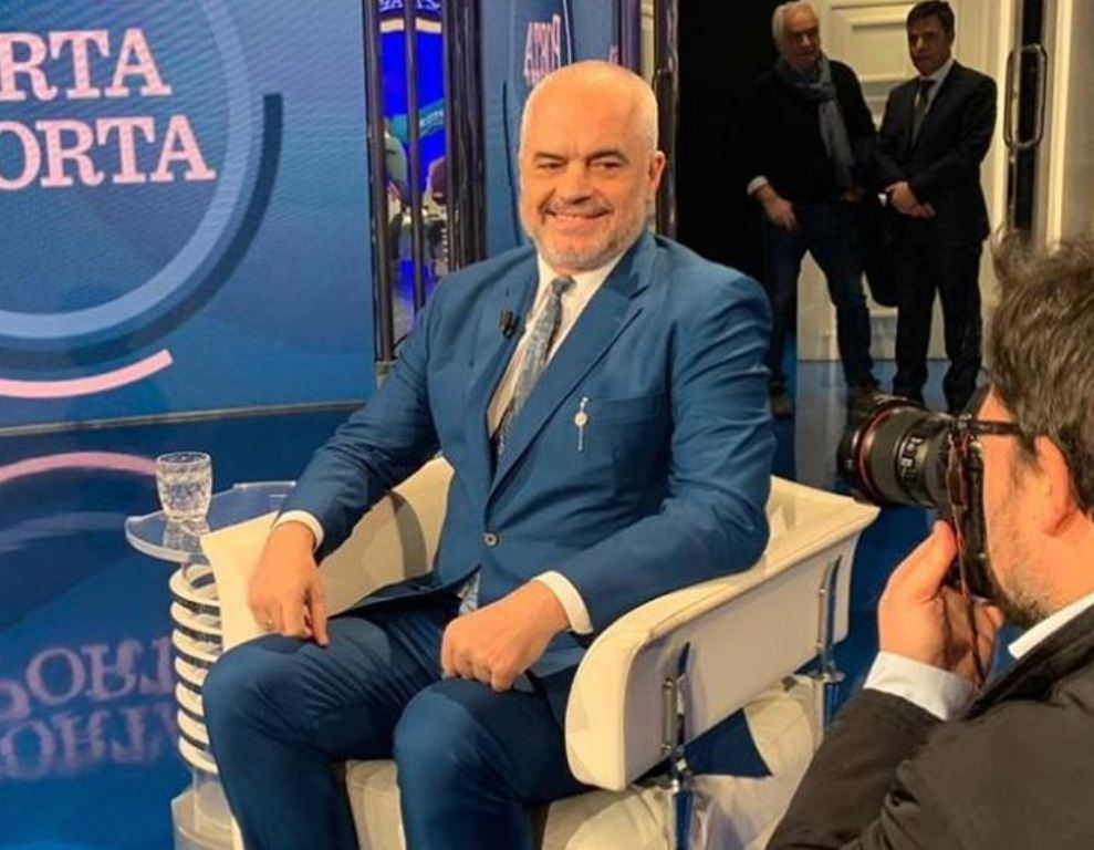 Albanian PM Rama for Italian media: What you're seeing is not a popular revolt!