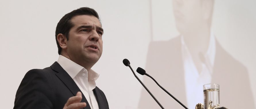 Tsipras rules out SYRIZA shift to the center-left