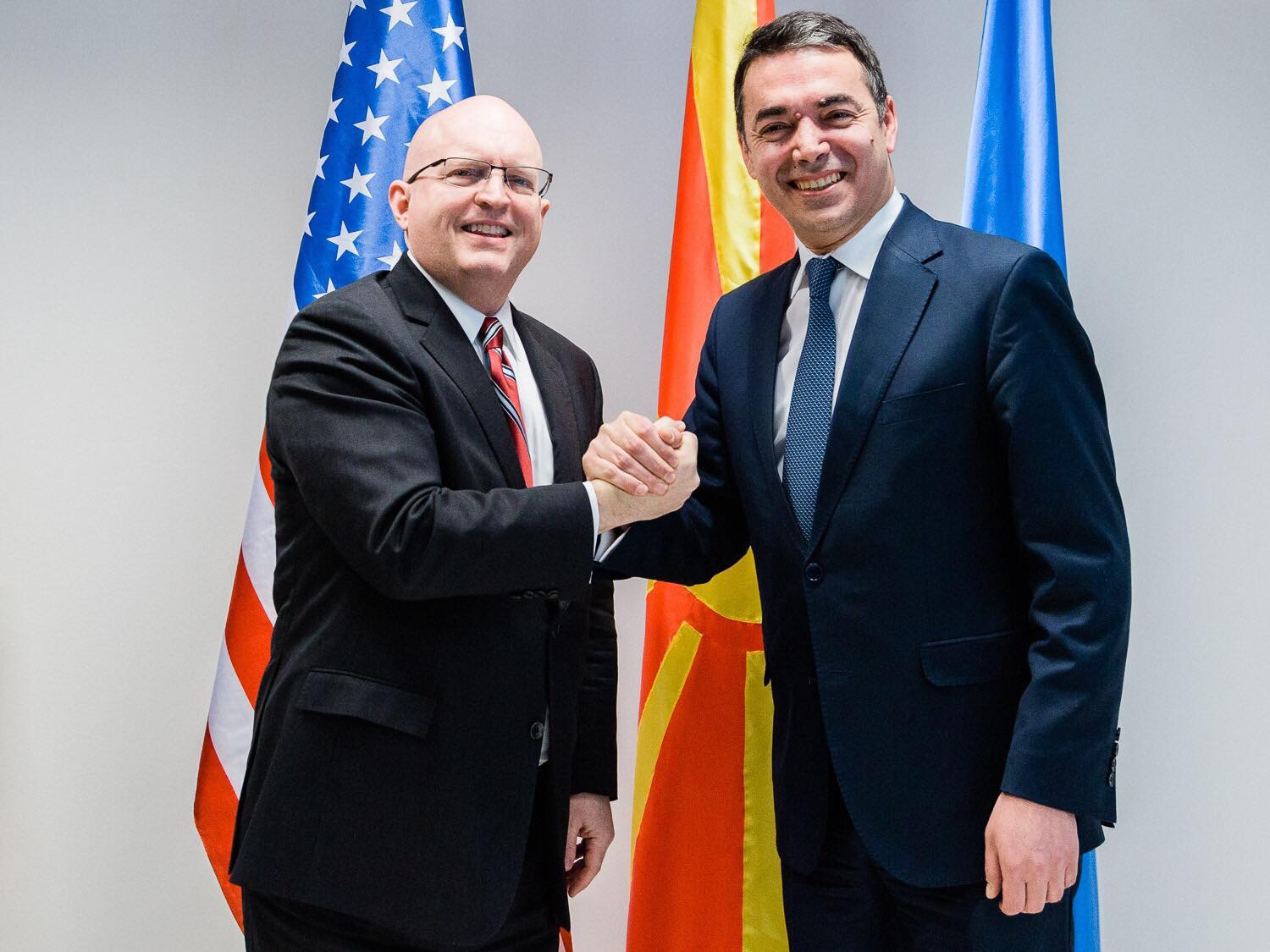US Senior official praises the Prespa agreement