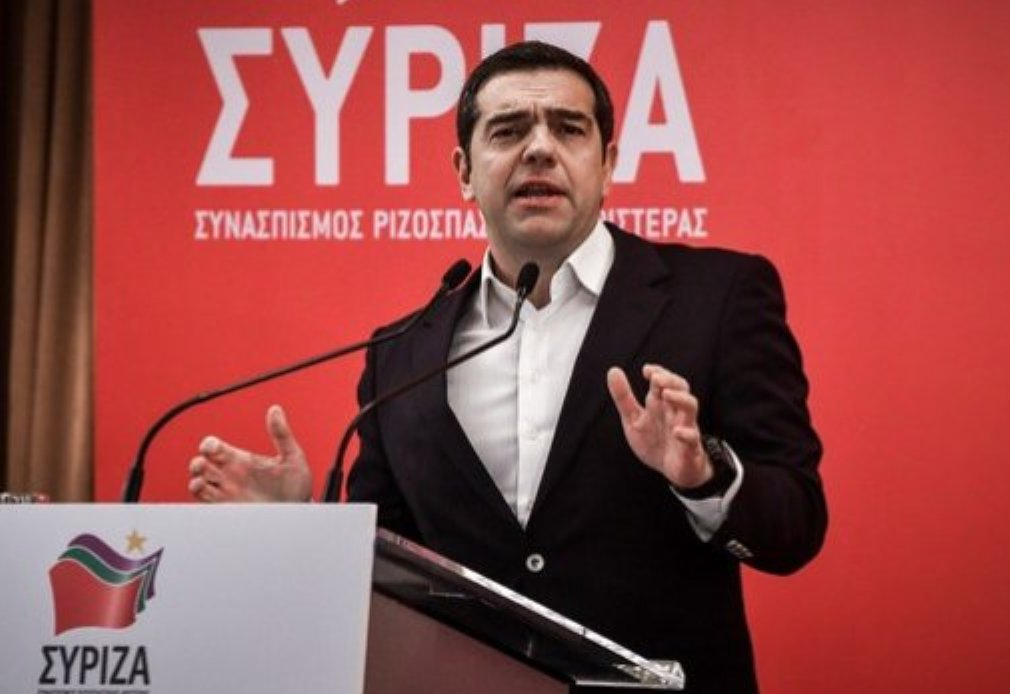 Tsipras in rallying cry ahead of European elections