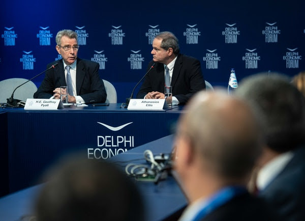 Geoffrey Pyatt: USA will participate in the next tripartite summit between Greece – Cyprus – Israel