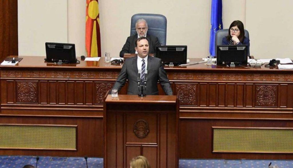 Skoplje: Poslanici odbacili predlog za izglasavanje nepoverenja ministru unutrašnjih poslova Spasovskom