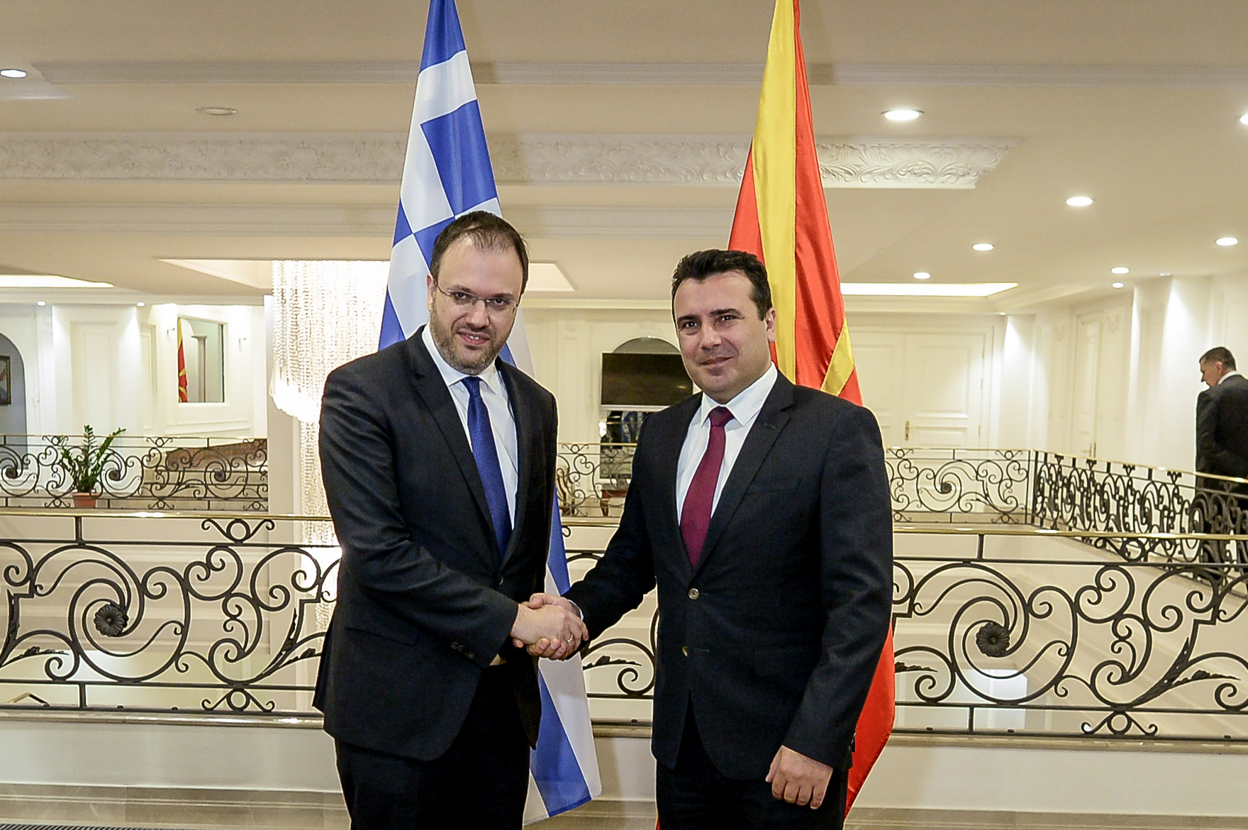 Zaev-Theocharopoulos: The Prespa Agreement is a historic step