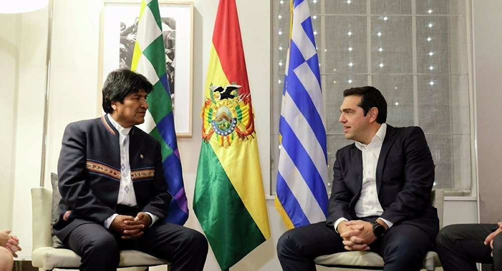 Evo Morales to meet with Alexis Tsipras in Athens