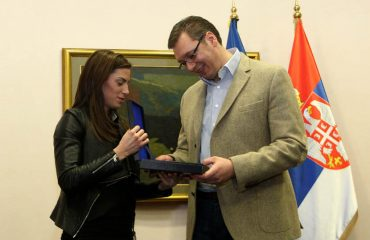 Serbian government gives money awards to athletes