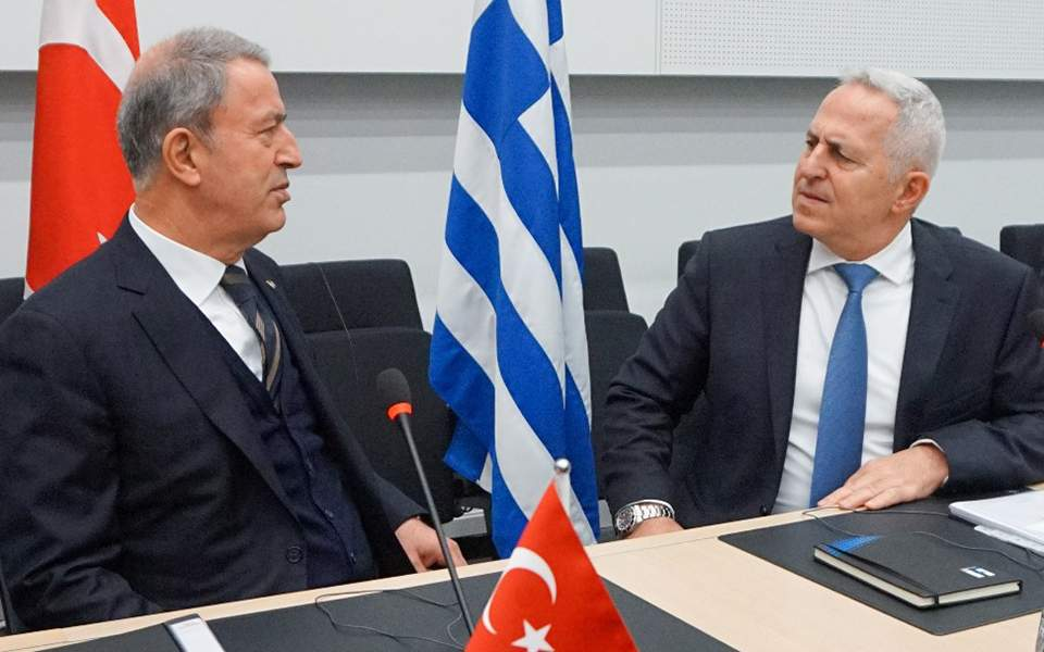 """Apostolakis on Akar's statements: """"They should get serious"""""""