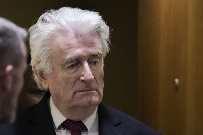 Karadzic puts the government in a difficult spot and divides the opposition