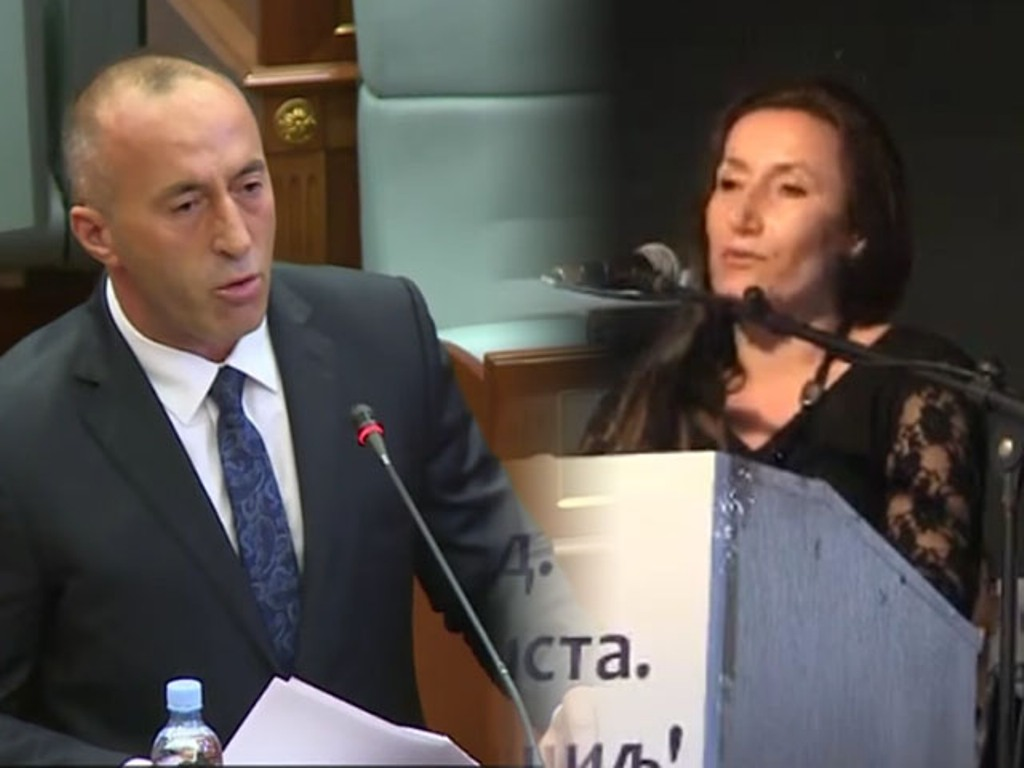 Kosovo's Haradinaj fires senior Serb official over comments about NATO