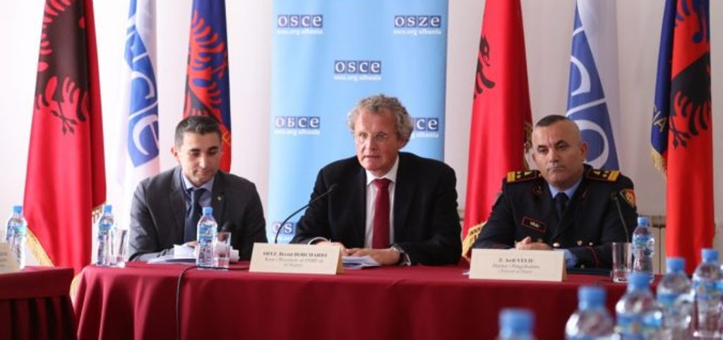 Police in Albania trained by OSCE ahead of local elections