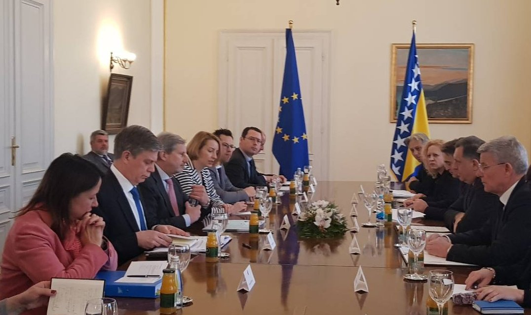 Johannes Hahn: Opinion on BiH candidate status to be announced by the end of May