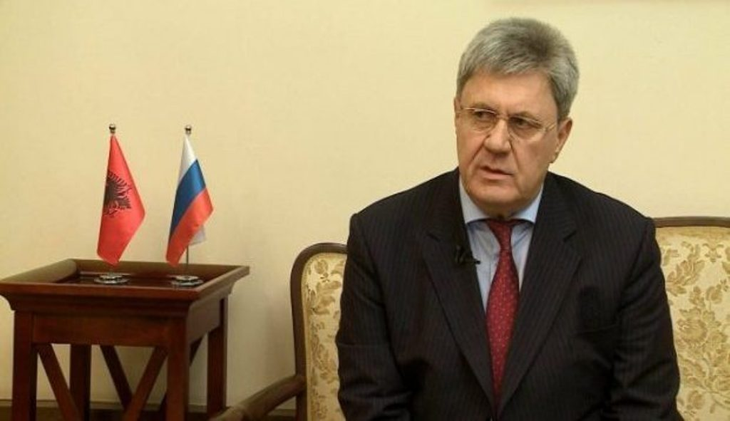 Russian ambassador says that border changes between Kosovo and Serbia is a US sponsored project
