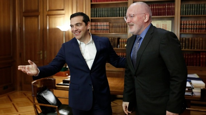 The Tsipras-Timmermans meeting and the messages to Fofi Gennimata