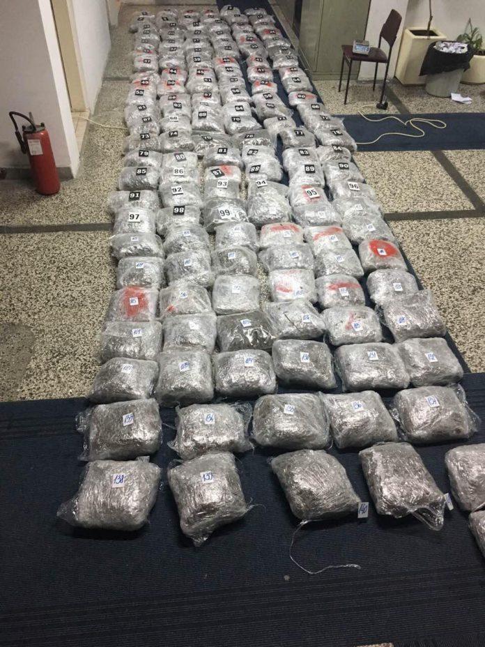 Montenegro police seizes large quantity of narcotics