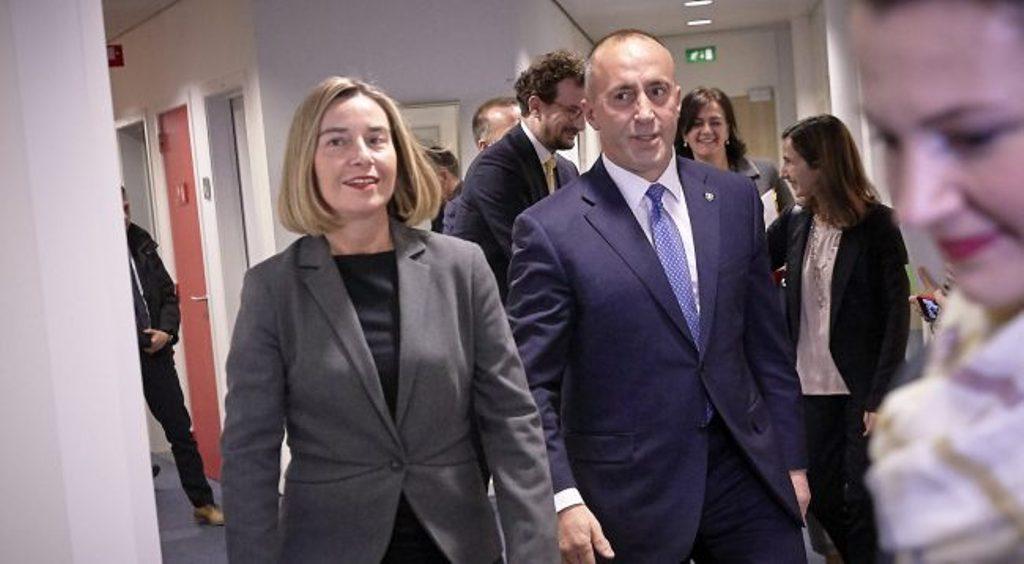 Kosovo's Haradinaj slams EU chief diplomat Mogherini