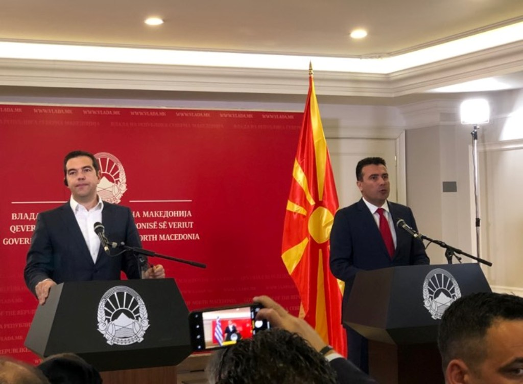 Tsipras – Zaev: We need to make up for lost time and build a different story for Balkans