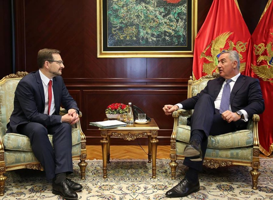 """Montenegro is an island of stability and promoter of cooperation"""