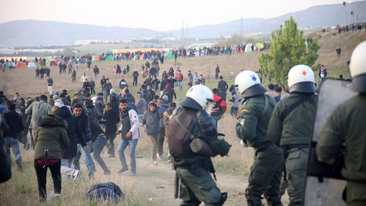 "Greek authorities fear a ""new Eidomeni"""