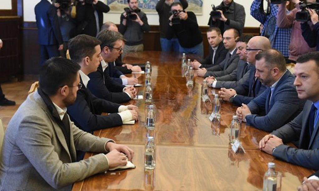 Serb List meets president Vucic regarding elections in the North of Kosovo