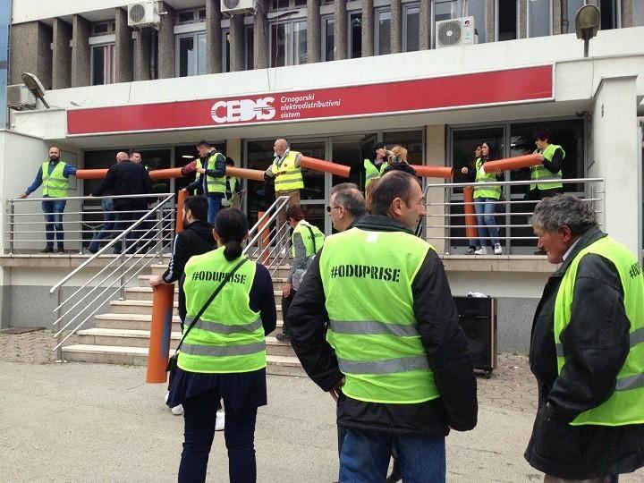 """Resistance 97 000"" blocked Montenegro's power supply agencies"