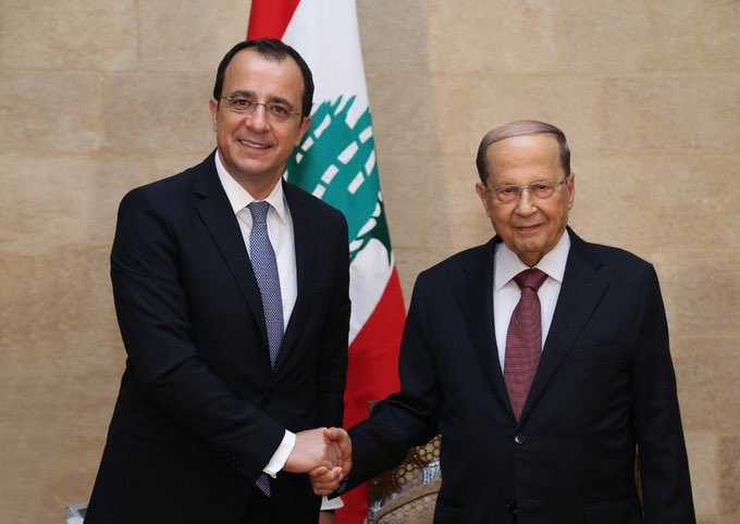 What was discussed in Beirut between Cyprus and Lebanon?