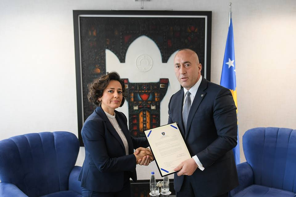 Adriana Hoxhiq appointed new Minister of Local Governance in Kosovo