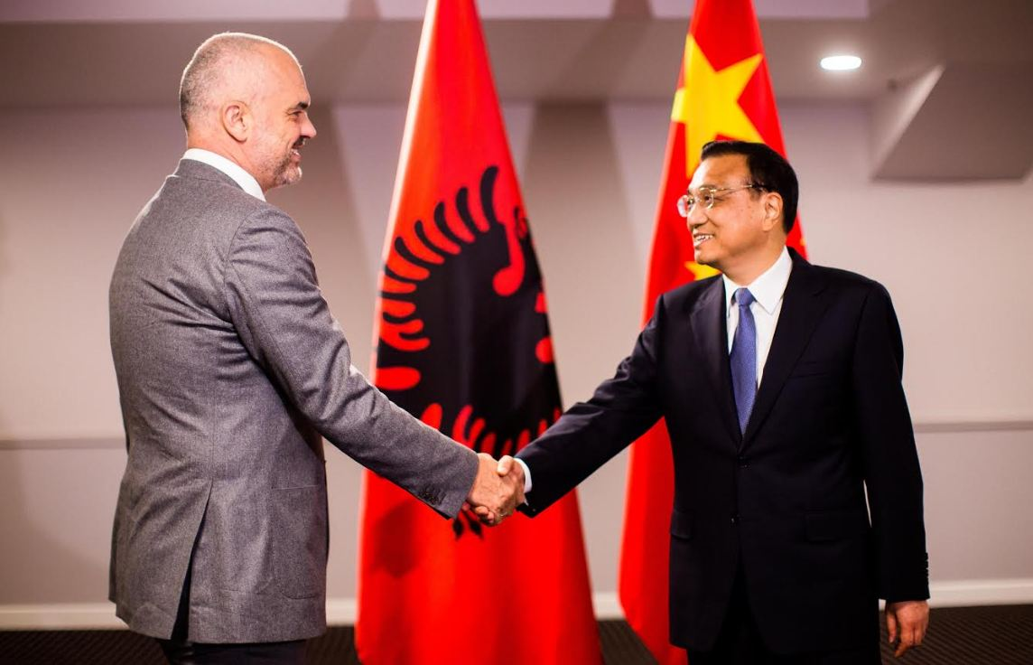 Albanian PM meets his Chinese counterpart in Dubrovnik