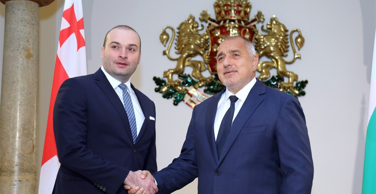 Prime Ministers of Bulgaria and Georgia discuss increase in ferry services