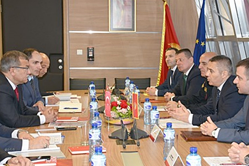 """Cooperation between Montenegro and Turkish police has yielded concrete results"""