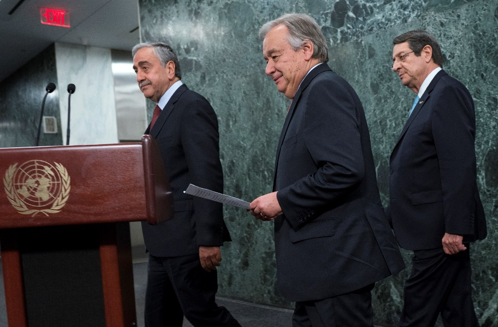 UN Secretary-General not overly optimisitc with the progress on the Cyprus issue