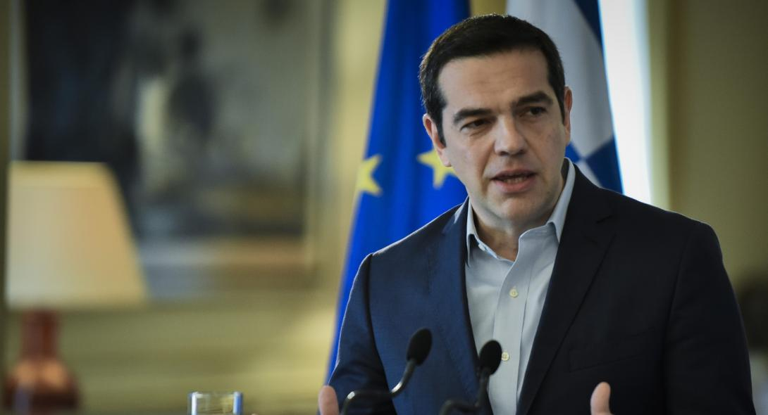 Tsipras raises the dilemmas of the elections at the Progressive Alliance meeting