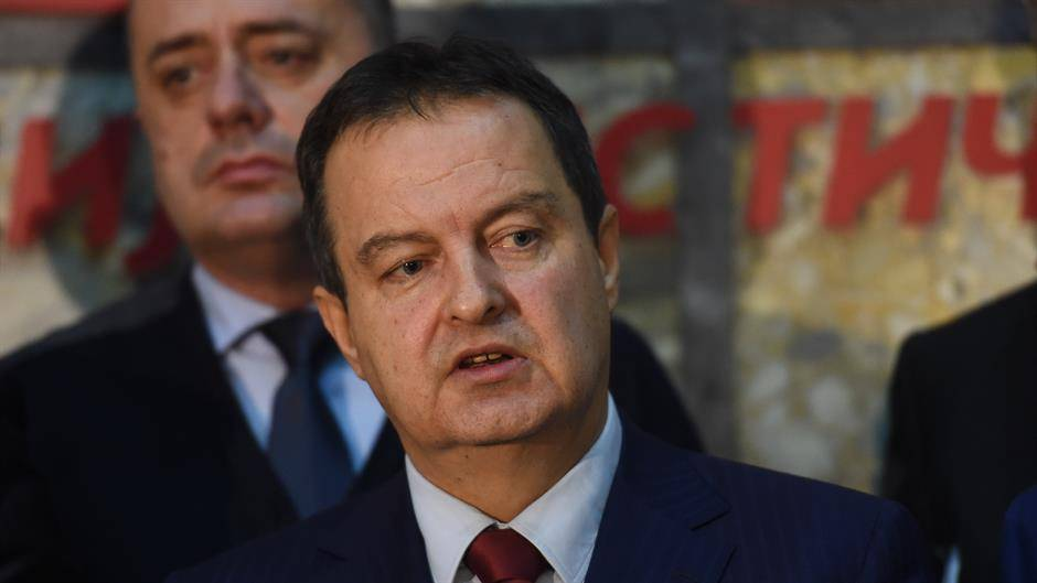 Kosovo Serbs are being terrorized, Dacic says