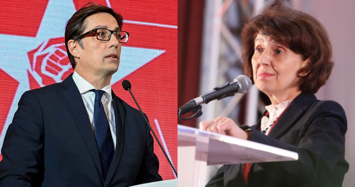 Presidential candidates in North Macedonia prepare for the second round