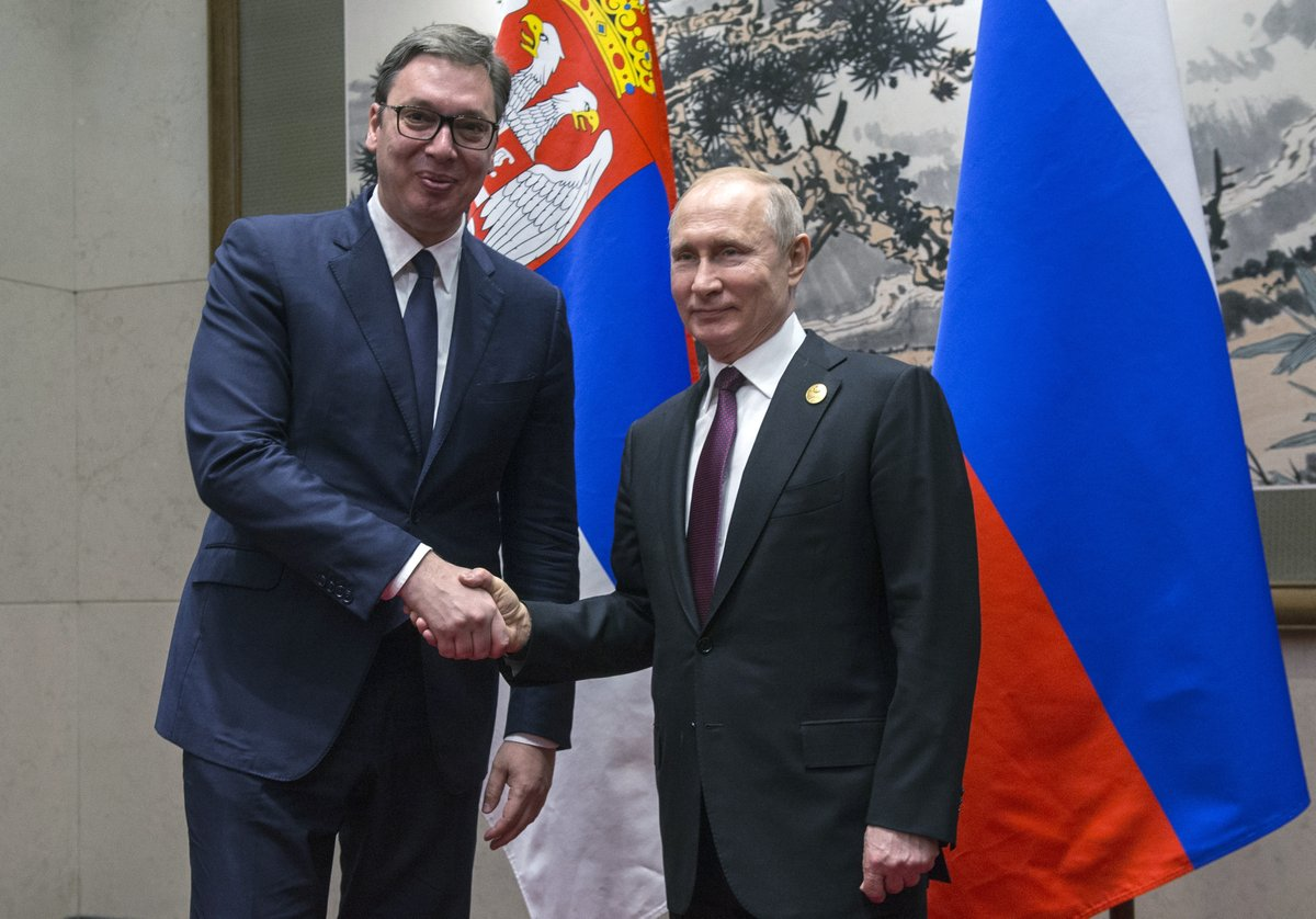 "Vucic and Putin ""achieved many concrete results"""