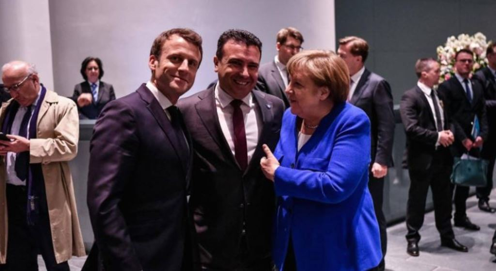 North Macedonia's Zaev comments the Berlin Summit
