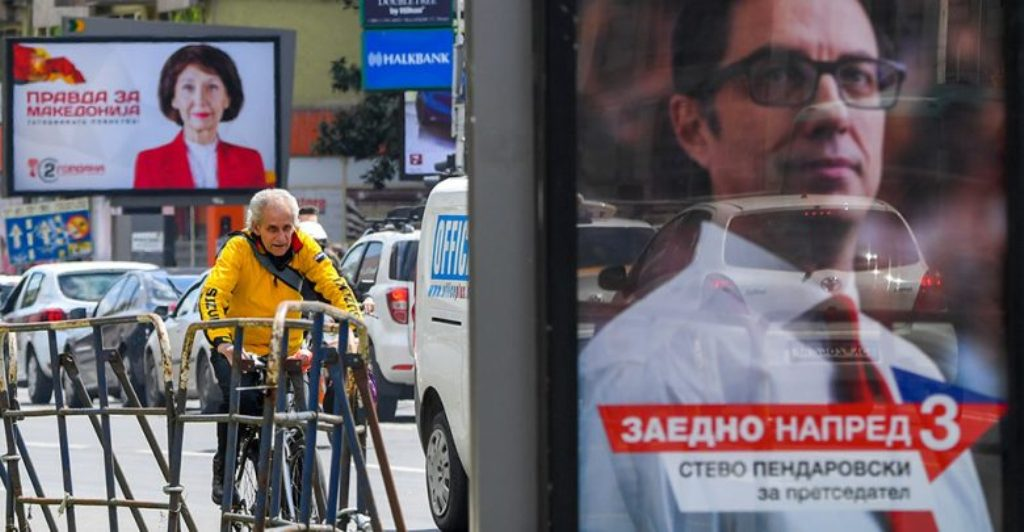 Presidential candidates in North Macedonia to wrap up election campaign
