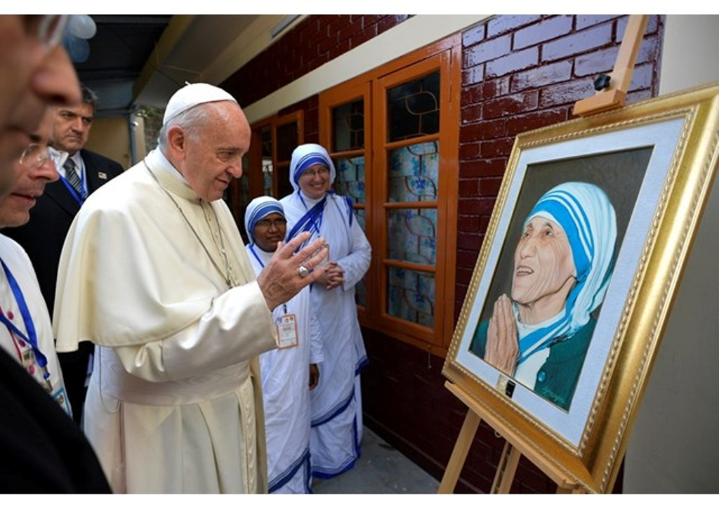 Pope Francis: I'm happy to visit Mother Teresa's birthplace