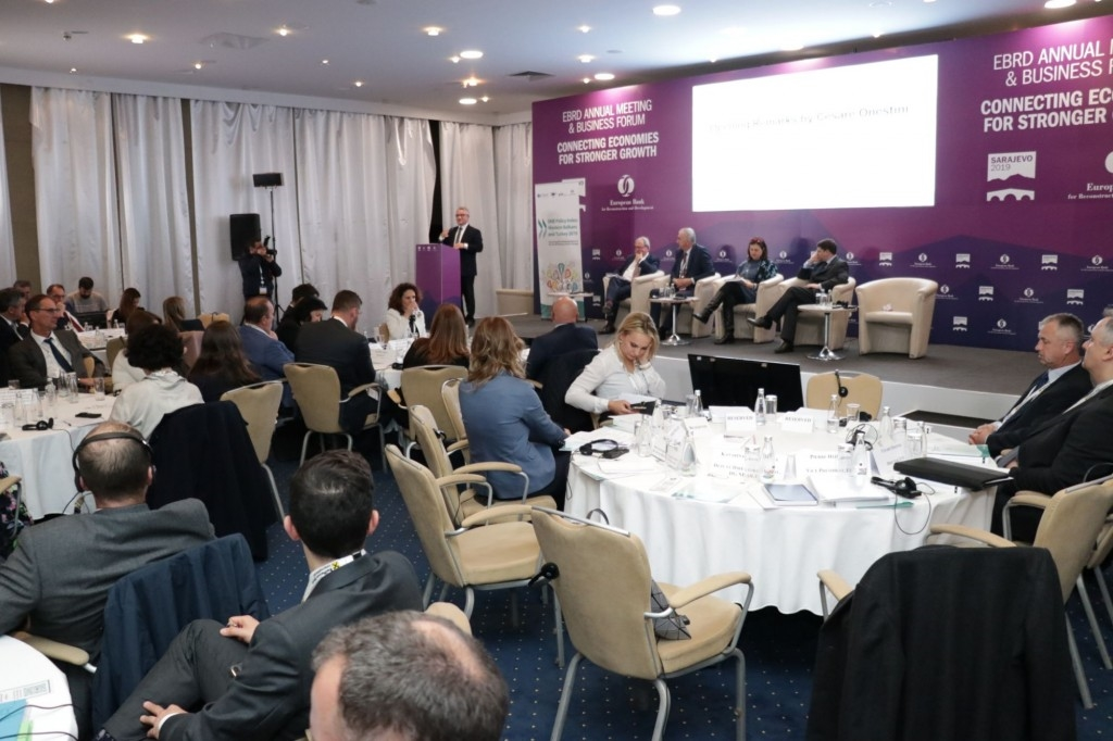 Sarajevo hosts the EBRD Board of Governors annual meeting