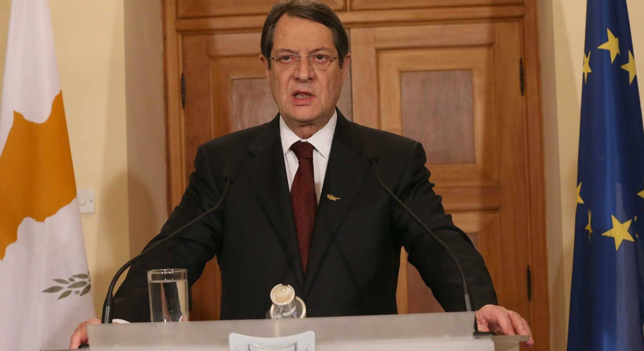 President Anastasiades to raise the issue of the EEZ in the Informal European Council in Romania