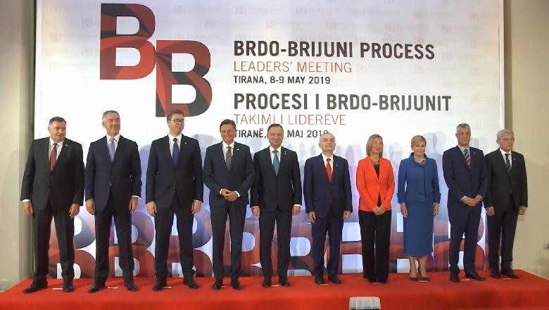 Western Balkan leaders meet in Tirana, Vucic walks out of photo shoot
