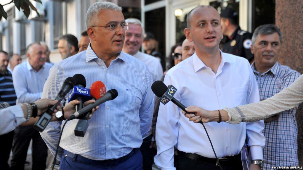 Mandić and Knežević were found guilty