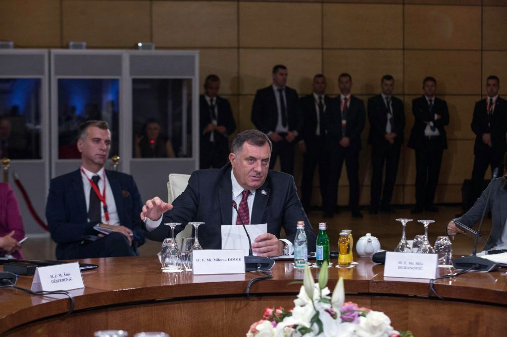 Dodik and Džaferović take part in the Brdo-Brioni summit