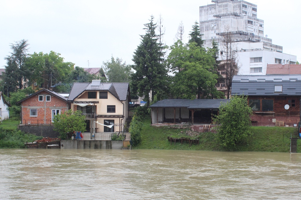 Floods hit Bosnia and Herzegovina for the second time in five years