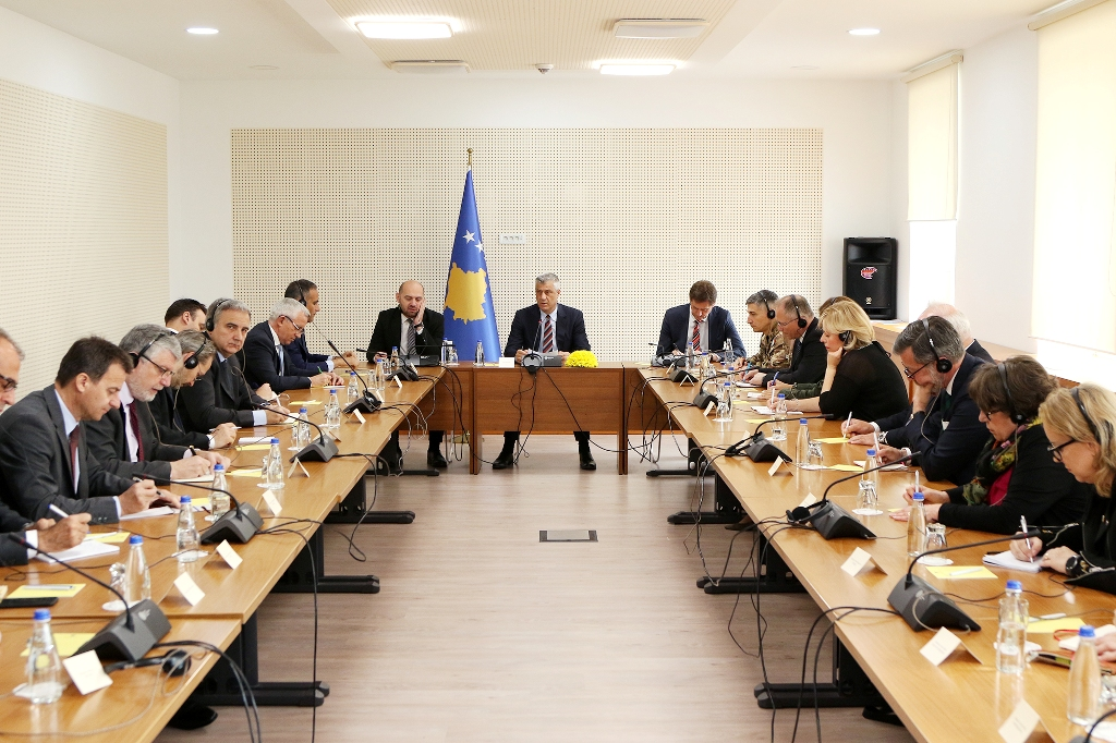 Kosovo's Thaci expects more from the Paris summit