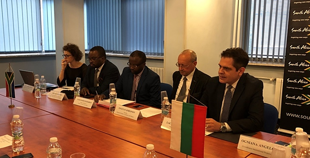 Economy Ministry: Trade between Bulgaria and South Africa reached $221M in 2018