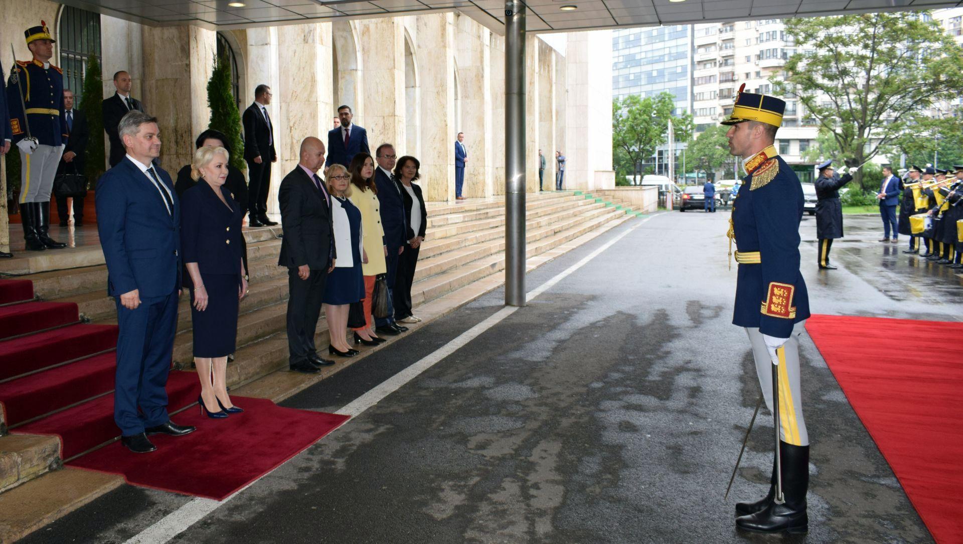 BiH CoM Chairman Zvizdić on an official visit in Bucharest