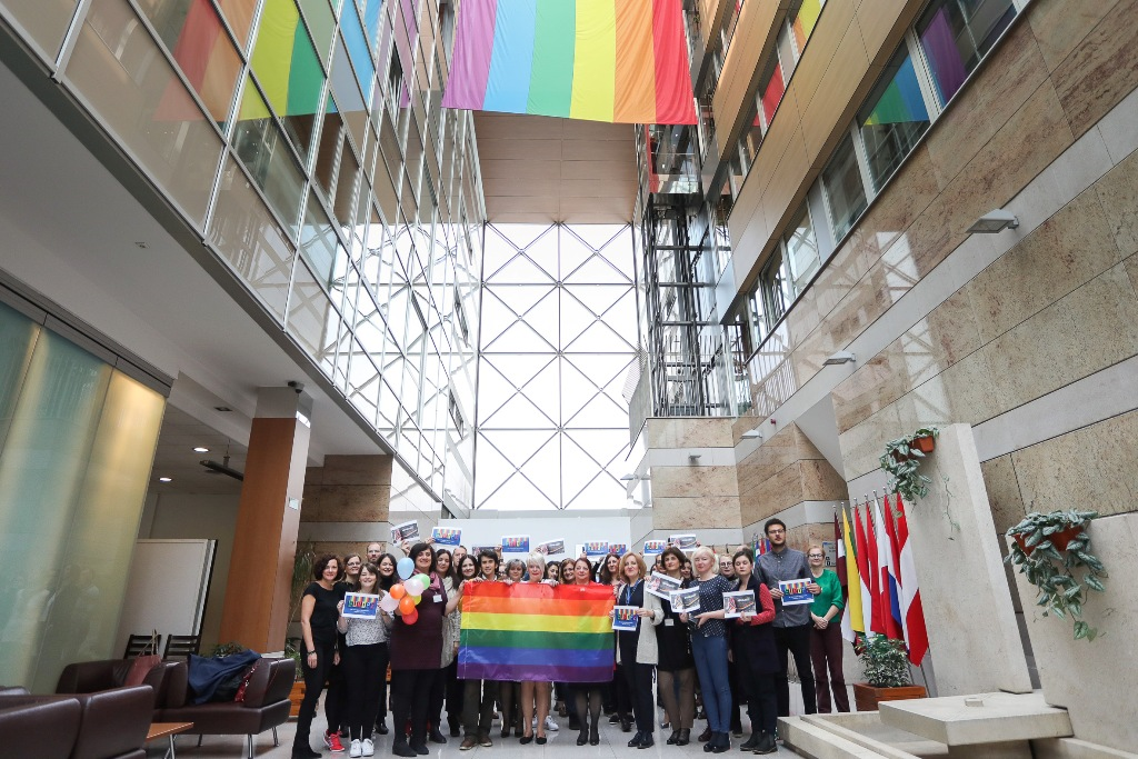 Diplomats in BiH against homophobia, transphobia and biphobia