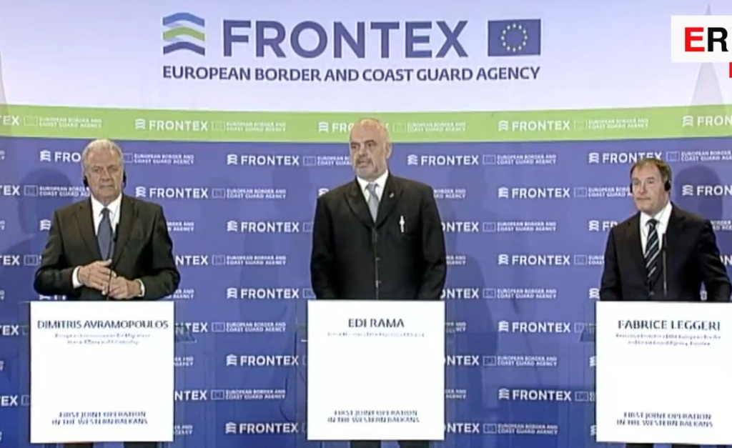 Albania and Frontex launch first joint operation outside EU